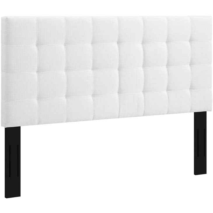Argyle Tufted Twin Upholstered Linen Fabric Headboard - living-essentials