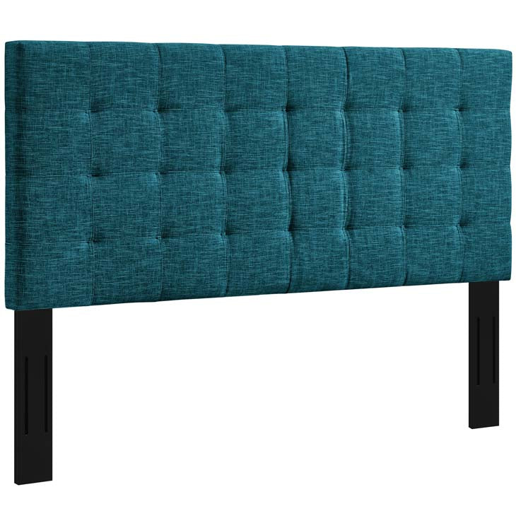 Argyle Tufted King and California King Upholstered Linen Fabric Headboard - living-essentials