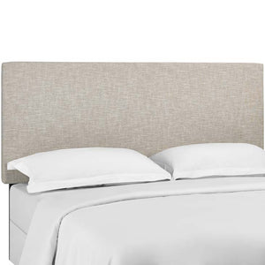 Tremblay Twin Upholstered Linen Fabric Headboard
