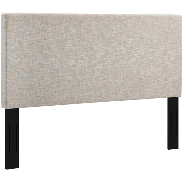 Tremblay Twin Upholstered Linen Fabric Headboard - living-essentials