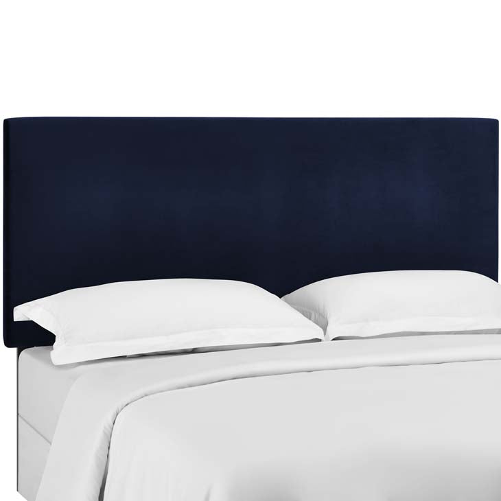 Tremblay Twin Upholstered Performance Velvet Headboard - living-essentials