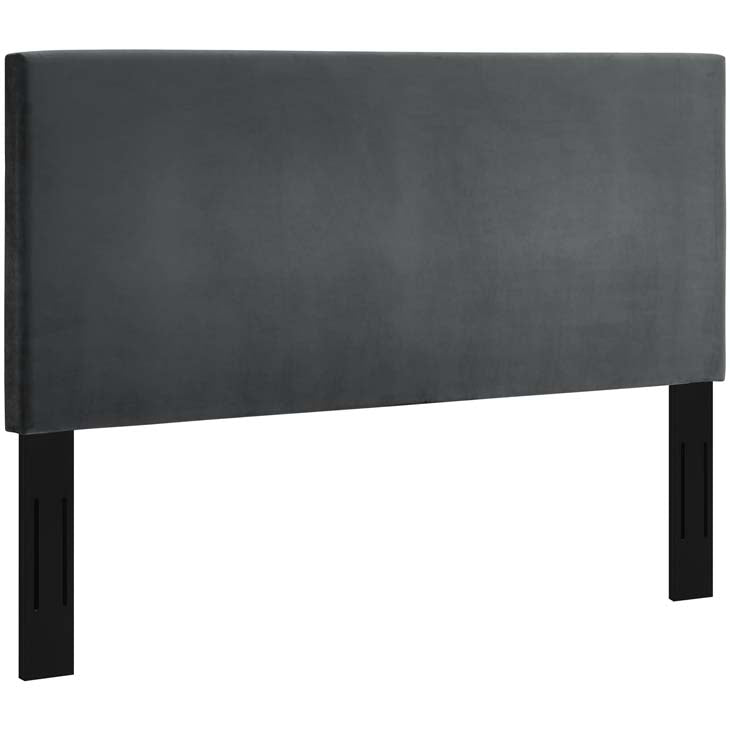 Tremblay Full / Queen Upholstered Performance Velvet Headboard - living-essentials