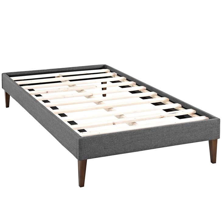 Tempo Twin Bed Frame with Squared Tapered Legs - living-essentials