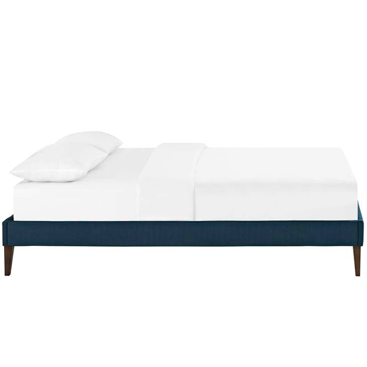 Tempo Full Bed Frame with Squared Tapered Legs - living-essentials