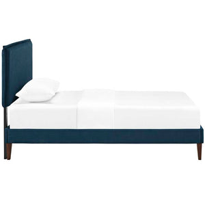 Amari Twin Platform Bed With Squared Tapered Legs Frames Free Shipping