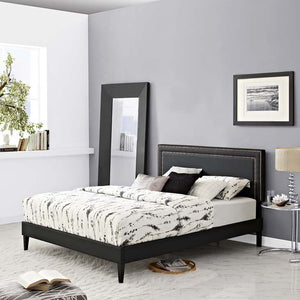 Veronica Twin Platform Bed With Round Splayed Legs Black Frames Free Shipping