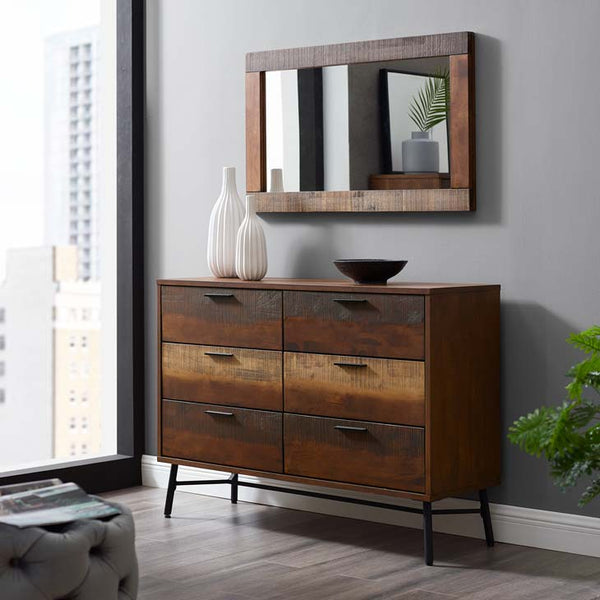 Ardine Rustic Wood Dresser - living-essentials