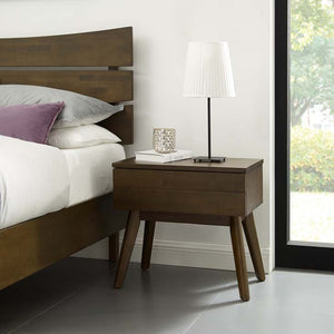 Evaline Wood Nightstand