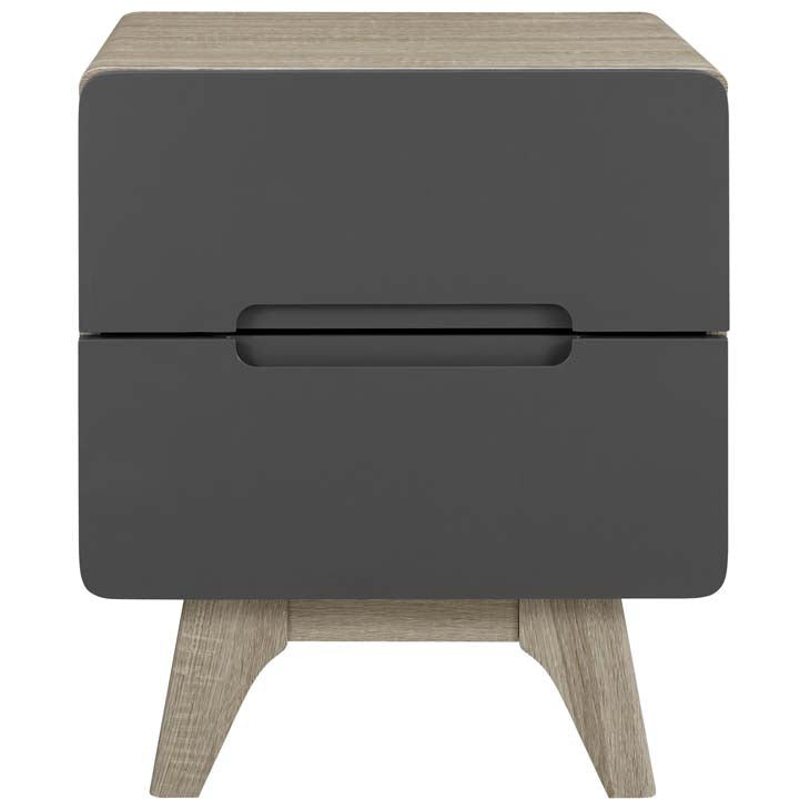 Ancestry Wood Nightstand or End Table - living-essentials