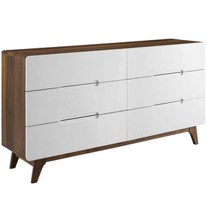 Ancestry Six-Drawer Wood Dresser or Display Stand - living-essentials