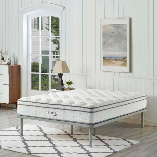 "Jenna 10"" California King Innerspring Mattress - living-essentials"