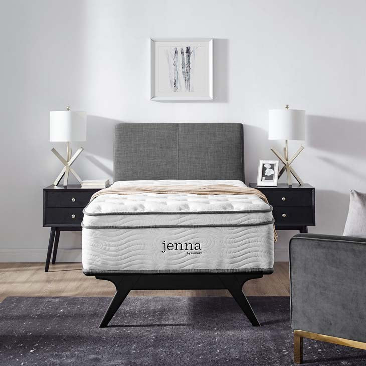 "Jenna 14"" Twin Innerspring Mattress - living-essentials"