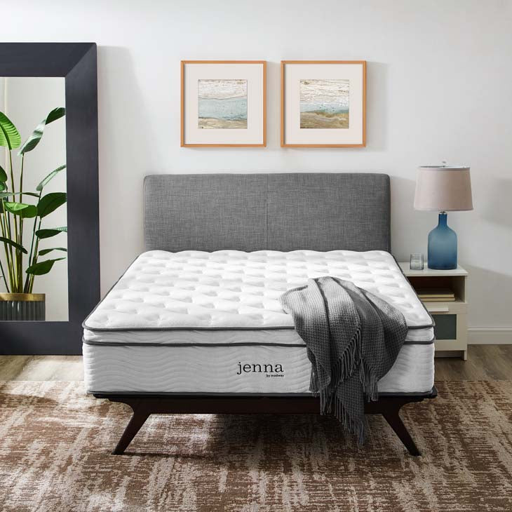 "Jenna 14"" Full Innerspring Mattress - living-essentials"