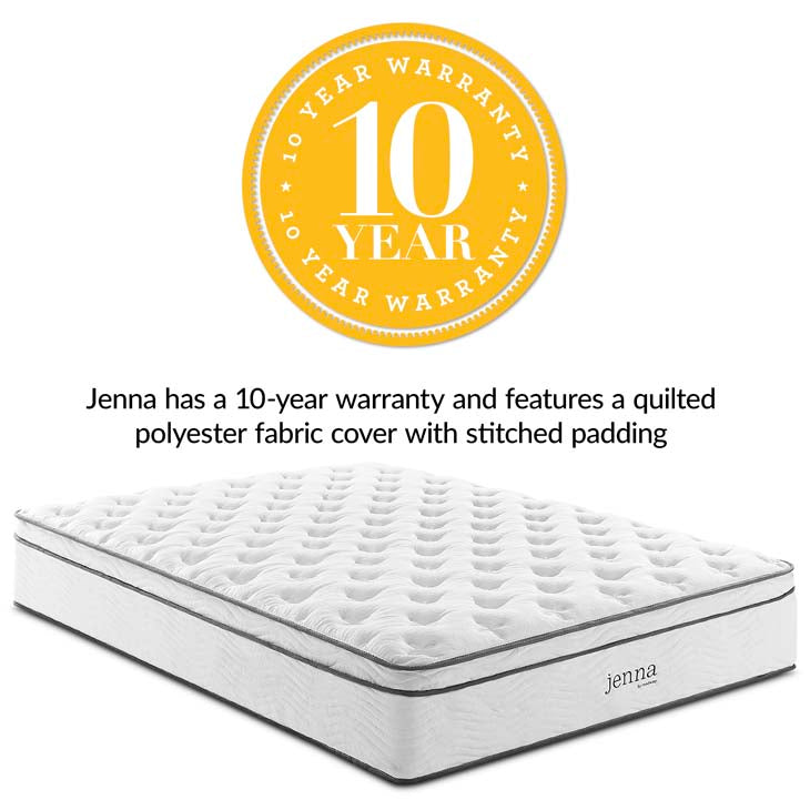 "Jenna 14"" King Innerspring Mattress - living-essentials"
