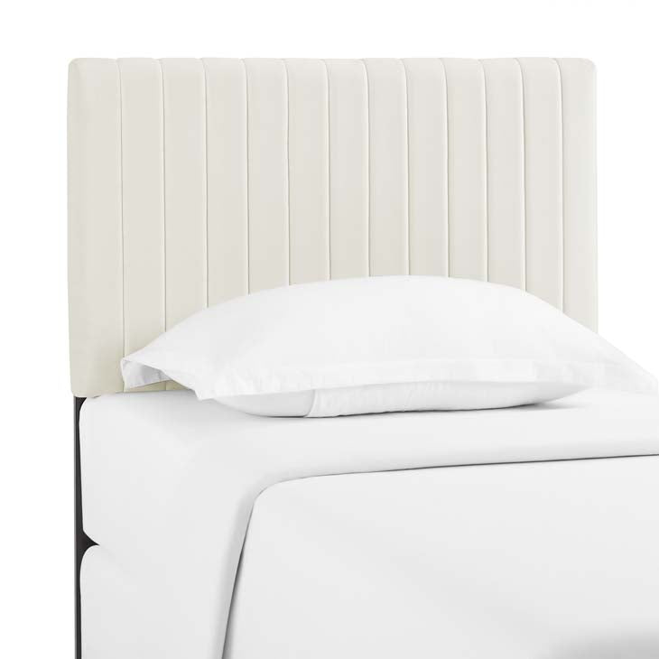 Kimberly Twin Performance Velvet Headboard - living-essentials