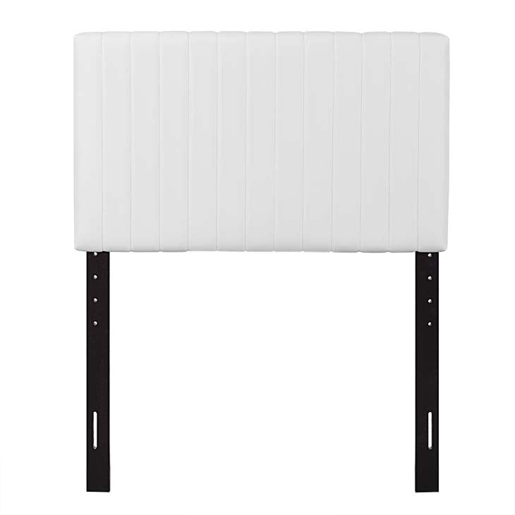 Kimberly Twin Faux Leather Headboard - living-essentials