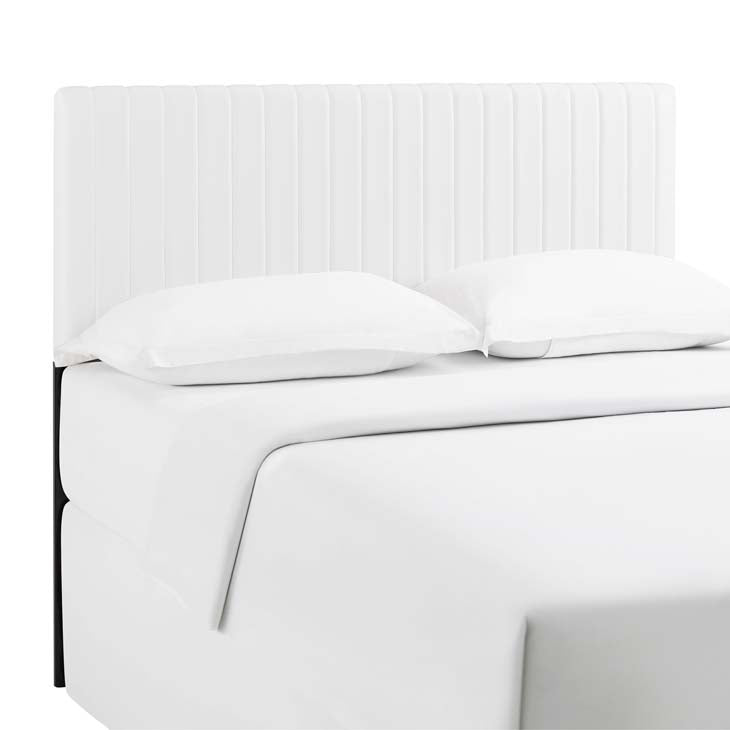 Kimberly Full/Queen Faux Leather Headboard - living-essentials