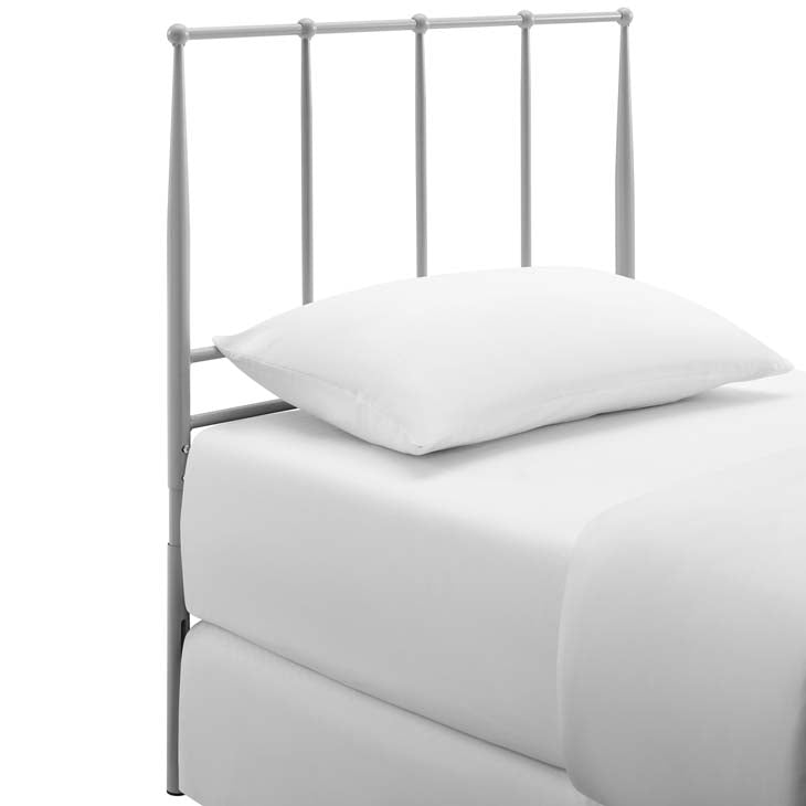 Kennedy Twin Metal Stainless Steel Headboard - living-essentials