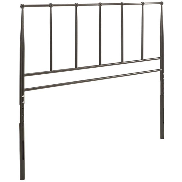 Kennedy Queen Metal Stainless Steel Headboard - living-essentials