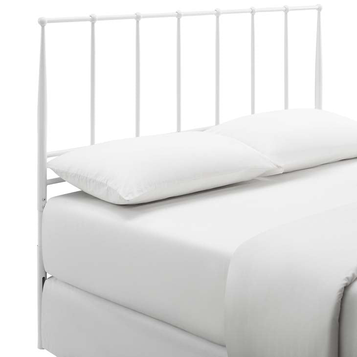 Kennedy King Metal Stainless Steel Headboard - living-essentials