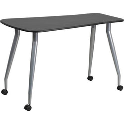 Liv Mobile Black Office Desk - living-essentials
