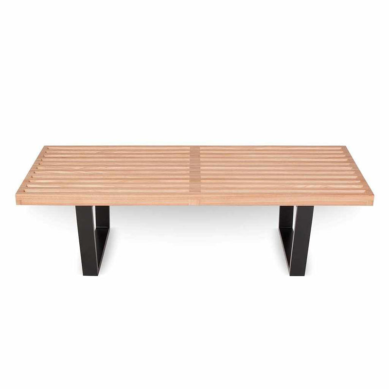 Nelson Style Natural Bench - living-essentials