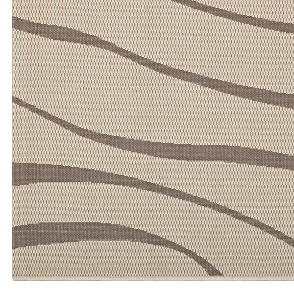 Sunday Swirl Abstract 8x10 Indoor and Outdoor Area Rug - living-essentials