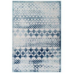 El Jadida Abstract Moroccan Trellis 8X10 Indoor/Outdoor Area Rug - living-essentials