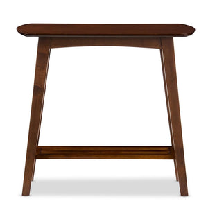 Golden State Dark Walnut Console Table Free Shipping