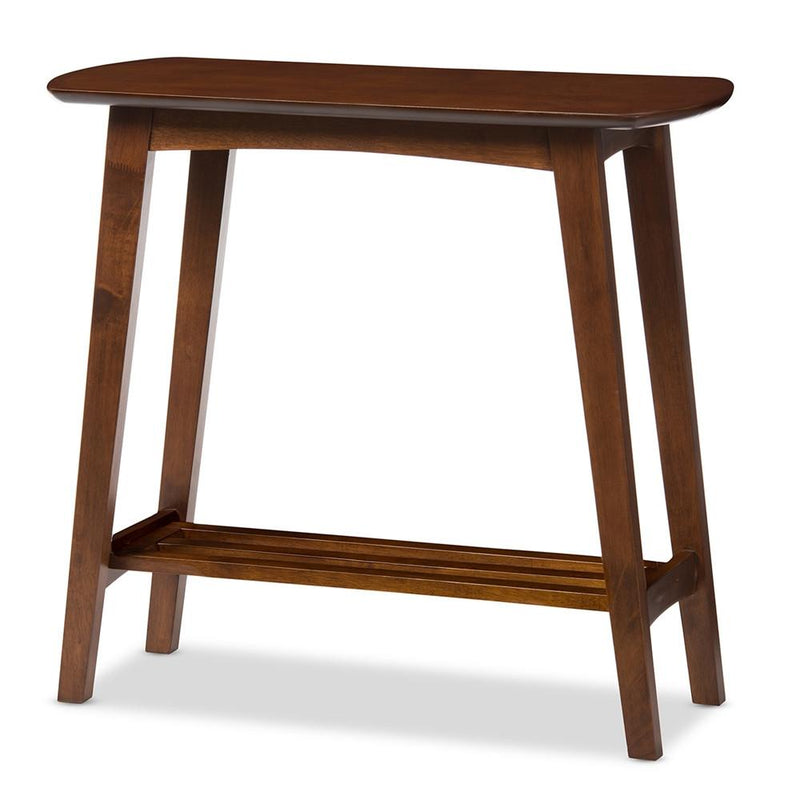 Golden State Dark Walnut Console Table - living-essentials