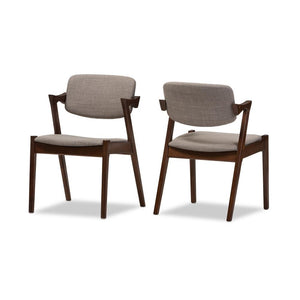 Kai Kristiansen Style #42 Dining Armchair Set Of 2 Dining Chairs Free Shipping