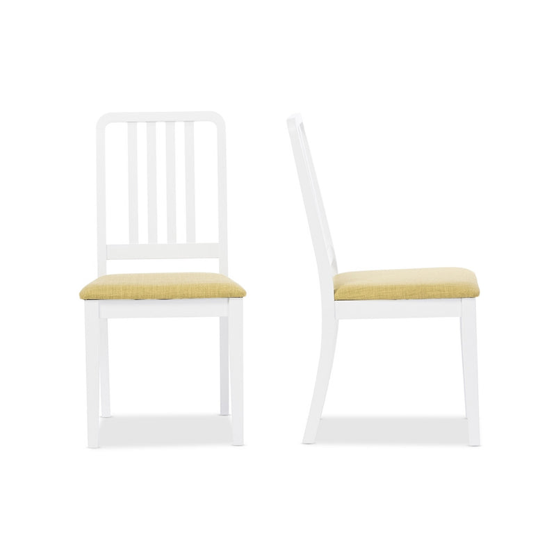 Jasmine Mid Century Dining Chair Set of 2 - living-essentials