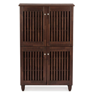 Roisin Wooden Entryway Shoe Storage Cabinet Free Shipping