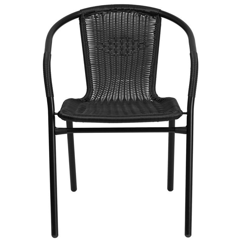 Ronny Rattan Indoor/Outdoor Stackable Restaurant Chair - living-essentials