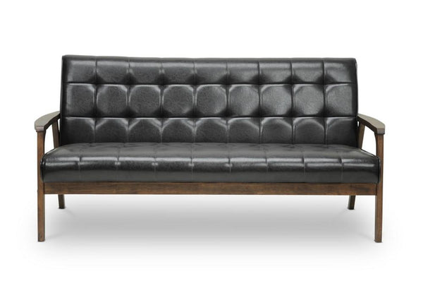 Waylon Brown Mid-Century Masterpiece Sofa - living-essentials