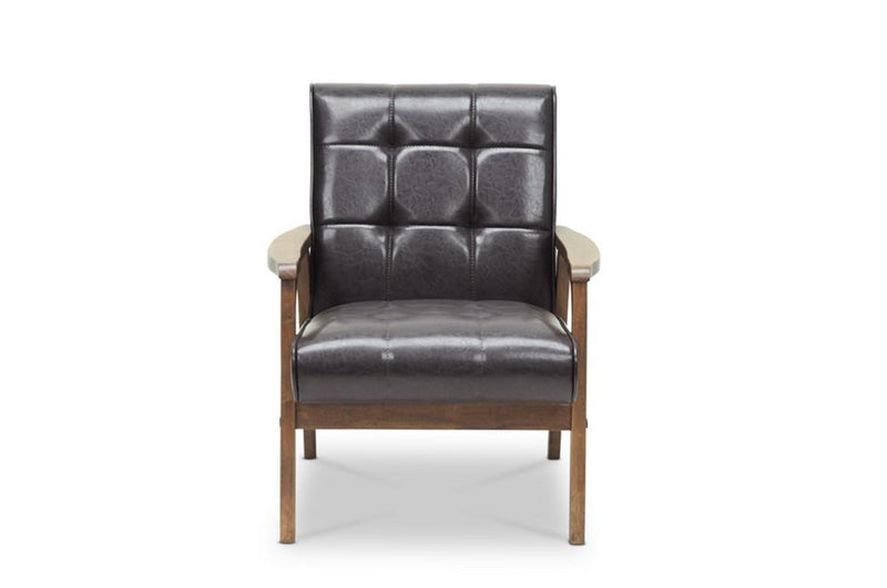 Waylon Brown Mid-Century Masterpiece Club Chair - living-essentials