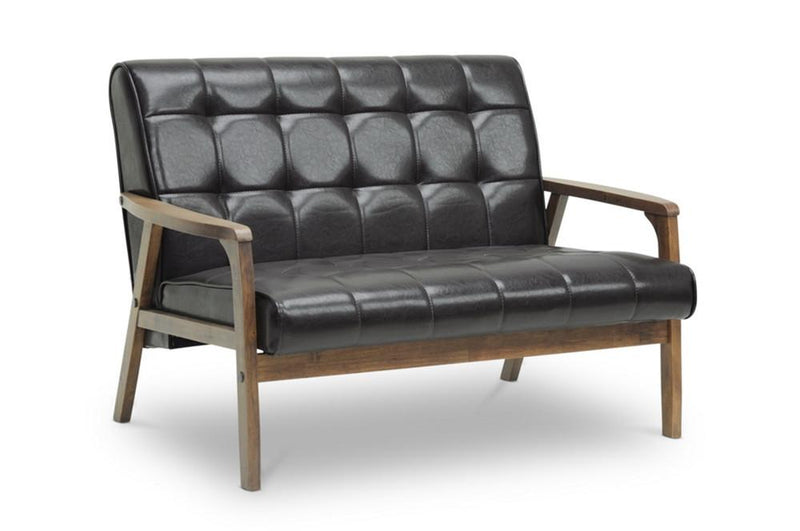 Waylon Brown Mid-Century Masterpiece Loveseat - living-essentials