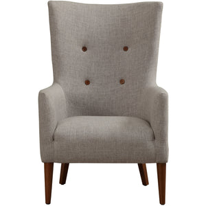 Dora Beige Linen Chair Accent Chairs Free Shipping