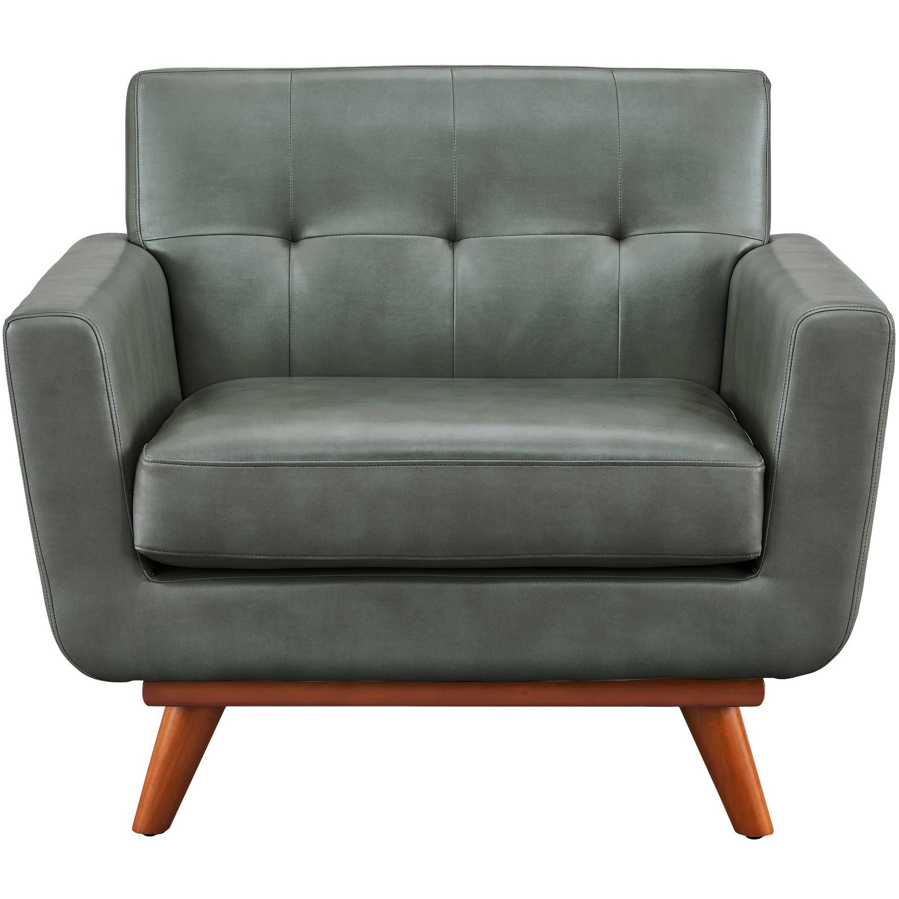 Elegant ... Queen Mary Smoke Grey Leather Armchair , EMFURN   2 ...