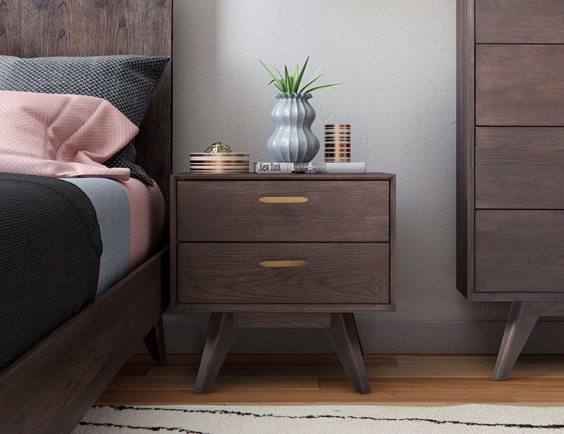 Loft Wooden Nightstand - living-essentials