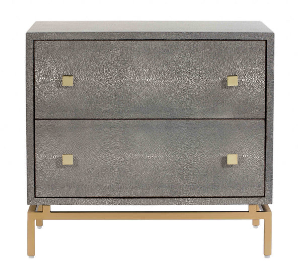 Pesce Shagreen Nightstand - living-essentials