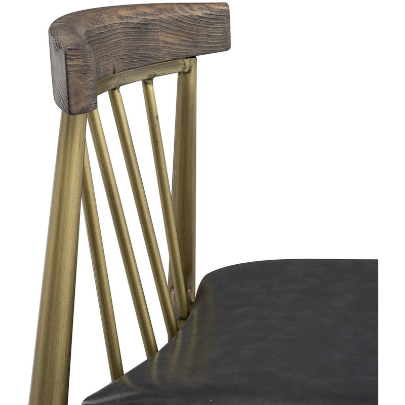 Allard Industrial Pine Dining Chair Set of 2 - living-essentials