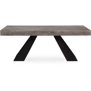Baltic Elm Dining Table Free Shipping