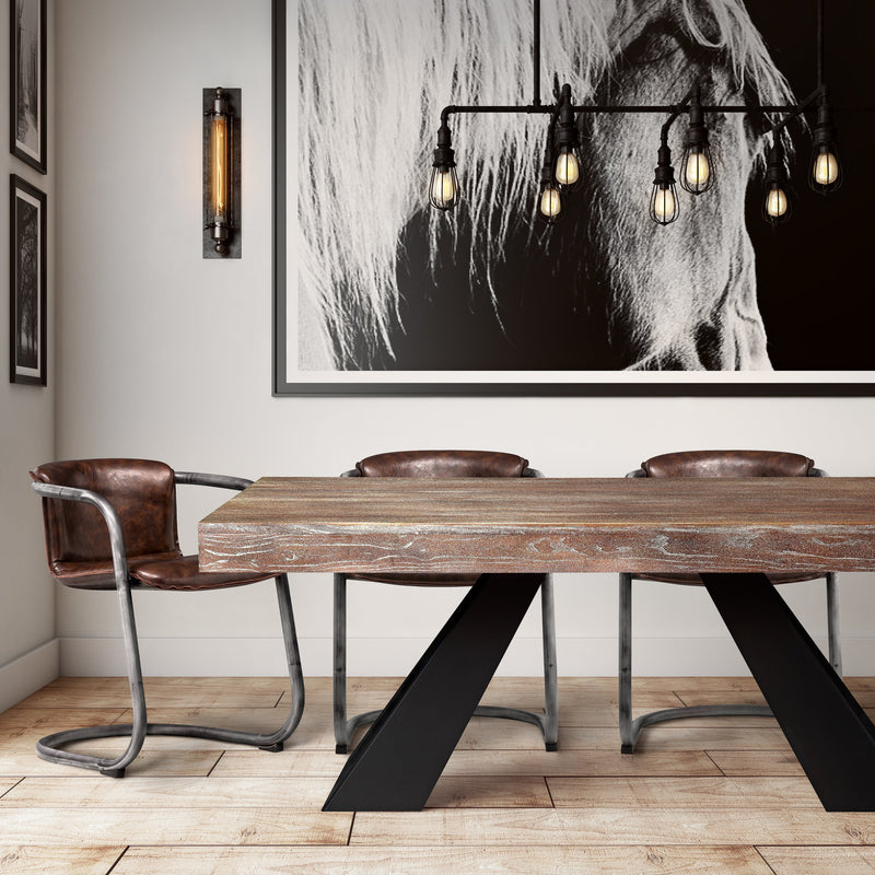 Baltic Elm Dining Table - living-essentials