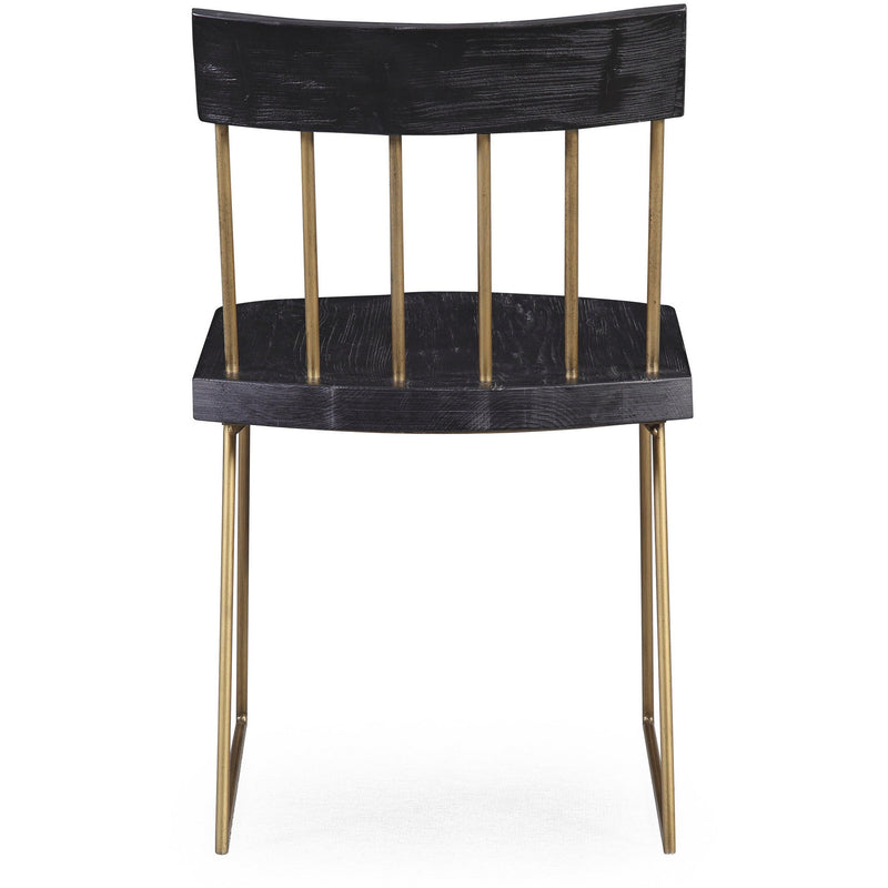 Ingrid Pine Dining Chair Set Of 2 - living-essentials