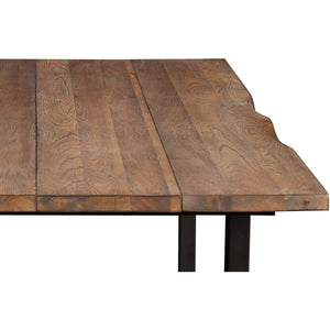 Vince Rustic Elm Dining Table Tables Free Shipping