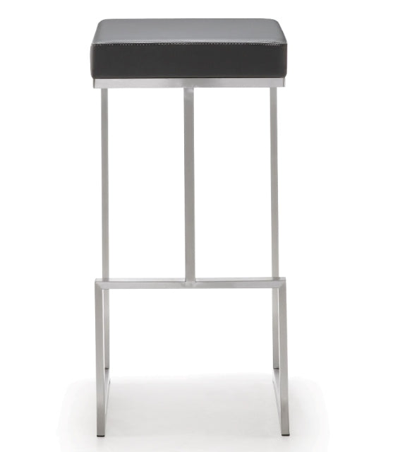 Ferras Grey Steel Barstool (Set of 2) - living-essentials