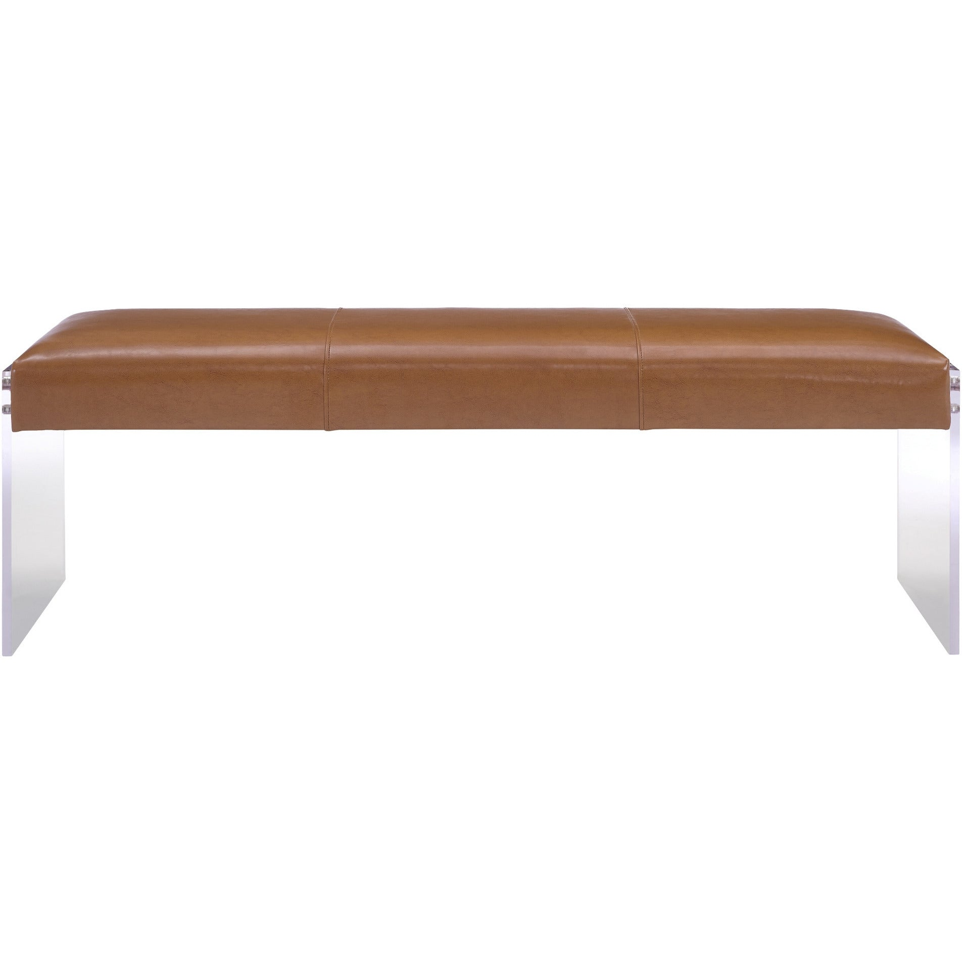 settle brown pad seat bench products leather viewing studioilse product