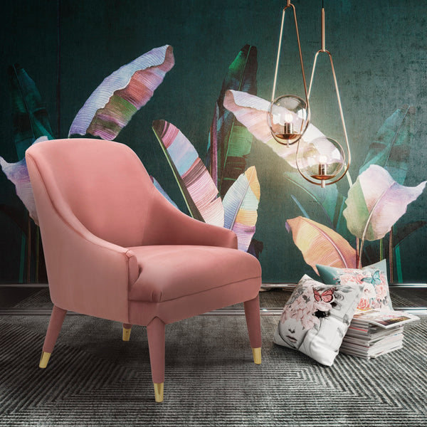 Orion Velvet Chair - living-essentials