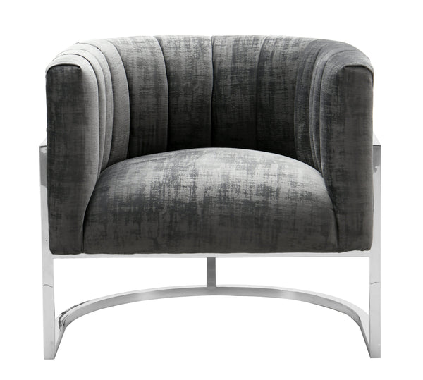 Mackenzie Chair with Silver Base - living-essentials